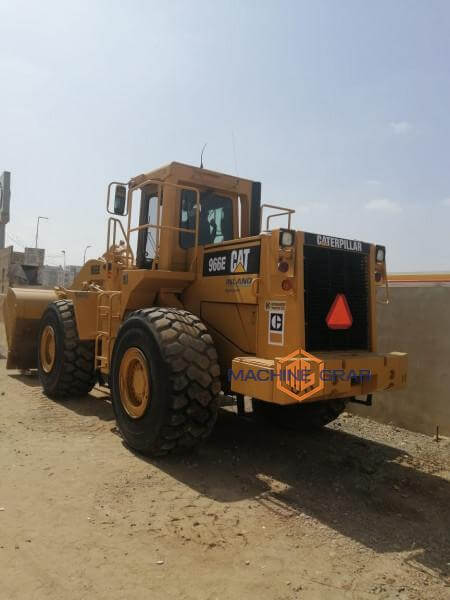 Caterpillar 966E Wheeled Loaders