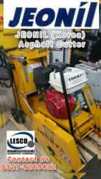 Jeonil (Korea) Heavy Duty Multi-Purpose Concrete/Asphalt Road Cutte