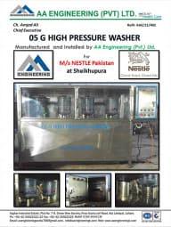 05 Gallon High Pressure Washer
